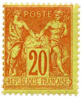 n°96** - Timbre FRANCE Poste