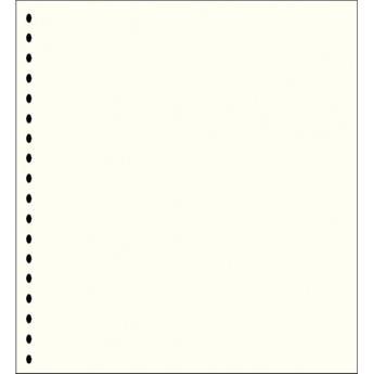 Feuilles neutres A4 liseré noir (x40) LEUCHTTURM (BL19/4)