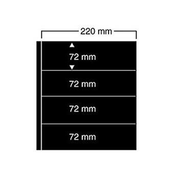 FEUILLES COMPACT A4 4 BANDES SAFE® (x10) (Hors cat. / Ref 454)