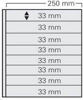 FEUILLE GARANT NOIR (x5) SAFE® (Ref 738)