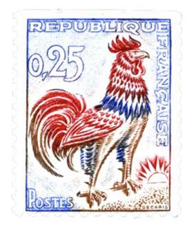 n° 1331c -  Selo França Correios