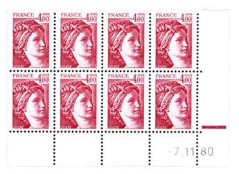 n.o 2122b -  Sello Francia Correos
