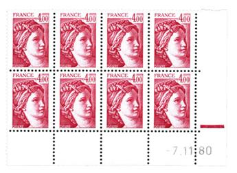 nr. 2122b -  Stamp France Mail