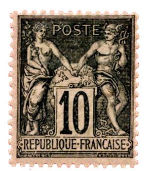 n°103** - Timbre FRANCE Poste