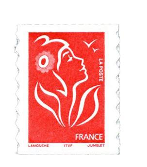 n° 49b -  Selo França Autoadesivos