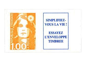 n° 8b -  Selo França Autoadesivos