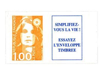 nr. 8b -  Stamp France Self-adhesive