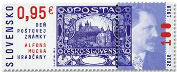 n° 756 - Timbre SLOVAQUIE Poste