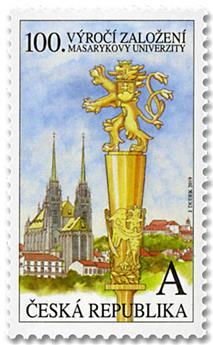 n° 904 - Timbre TCHEQUE (République) Poste