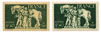 n°586** - Timbre FRANCE Poste