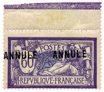 n°144-CI1** - Timbre FRANCE Cours D´Instruction
