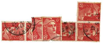 n°721A obl. - Timbre FRANCE Poste