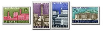 n° 1152/1155 (ND) - Timbre France Poste (Non dentelé)