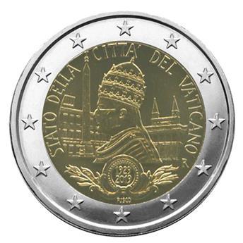 BU : 2 EURO COMMEMORATIVE 2019 : VATICAN (90e anniversaire de la fondation de l'État de la Cité du Vatican)