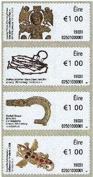 n° 113/116 - Timbre IRLANDE Timbres de distributeurs