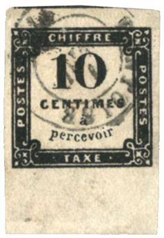France : Taxe n°1 obl. TB