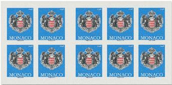 n° 20 - Timbre Monaco Carnets