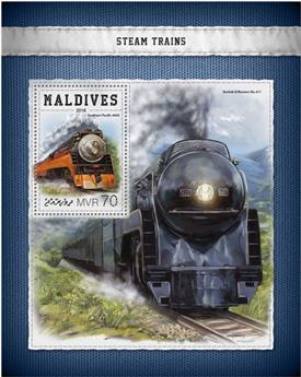 n° 1155 - Timbre MALDIVES Blocs et feuillets