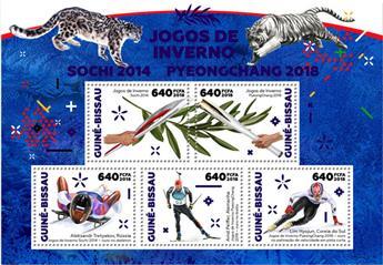 n° 7427/7431 - Timbre GUINÉE-BISSAU Poste