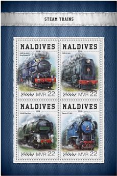 n° 6174/6177 - Timbre MALDIVES Poste