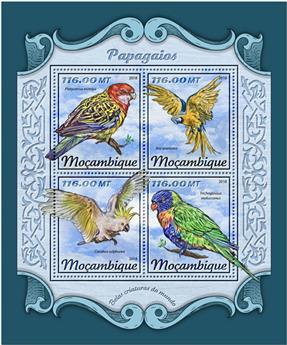 n° 7618/7621 - Timbre MOZAMBIQUE Poste