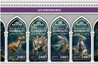 n° 2052/2055 - Timbre DJIBOUTI Poste