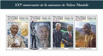 n° 9272/9275 - Timbre GUINÉE Poste