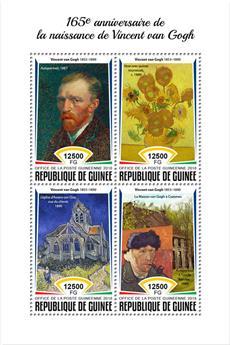 n° 9352/9355 - Timbre GUINÉE Poste