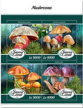 n° 7573/7576 - Timbre SIERRA LEONE Poste