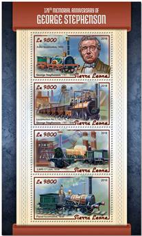 n° 7693/7696 - Timbre SIERRA LEONE Poste