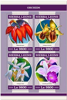 n° 7737/7740 - Timbre SIERRA LEONE Poste