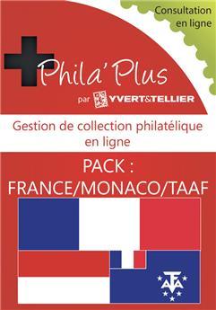 PHILA´Plus en ligne : France/Monaco/TAAF (12 mois)