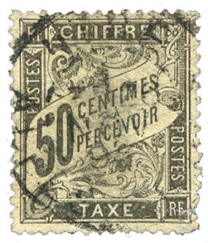 n°20 obl. - Timbre FRANCE Taxe