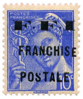 n°1M* (MAYER) - Timbre FRANCE Liberation (Mauriac)