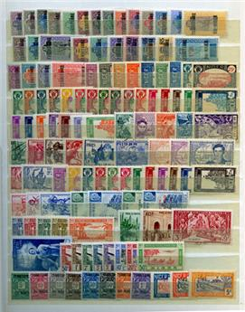NIGER : Collection 1921/1944 **/*/obl.