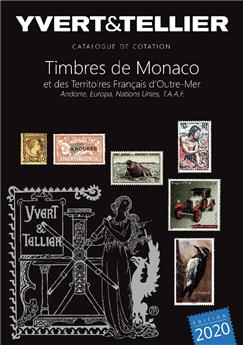 TOME 1BIS - 2020 (Catalogue des Timbres de Monaco et des TOM)