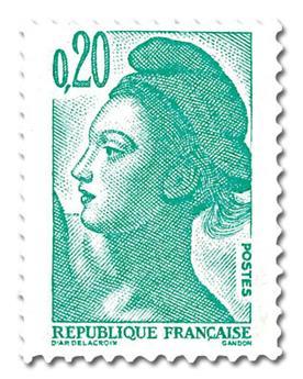 n° 2181 -  Selo França Correios