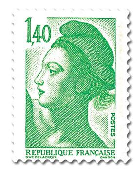 n° 2186 -  Selo França Correios