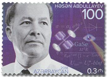n° 1122 - Timbre AZERBAIDJAN Poste
