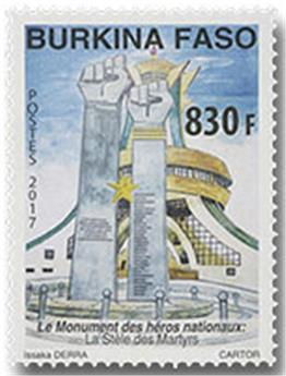n° 1432 - Timbre BURKINA Poste