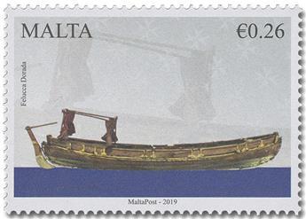 n° 1954/1955 - Timbre MALTE Poste