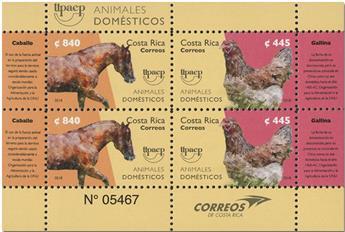 n° 994/995 - Timbre COSTA RICA Poste