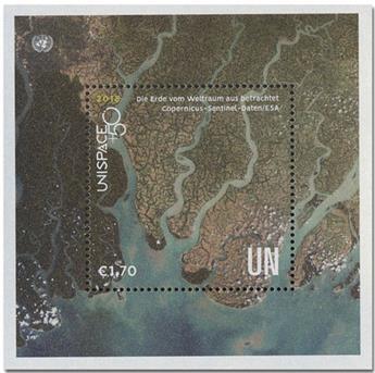 n° 32 - Timbre ONU VIENNE Blocs et feuillets