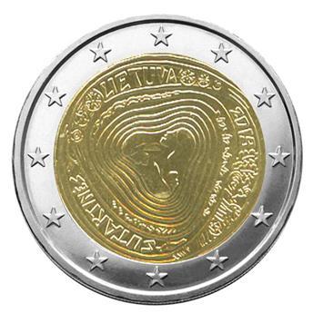 2 EURO COMMEMORATIVE 2019 : LITUANIE (Les Sutartinés, chansons folkloriques)