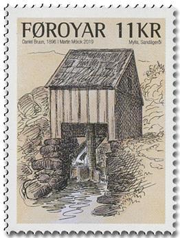 n° 947/948 - Timbre ILE FEROE Poste