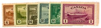 n°219/224 **/* - Timbre CANADA Poste