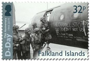 n° 1312/1315 - Timbre FALKLAND Poste