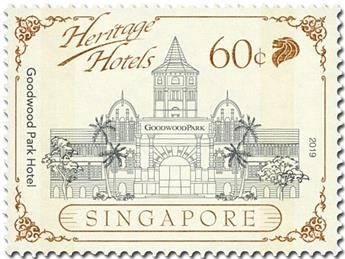 n° 2317/2321 - Timbre SINGAPOUR Poste