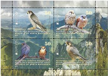 n° 832/835 - Timbre MACEDOINE Poste (EUROPA)