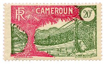 n°132* - Timbre CAMEROUN Poste